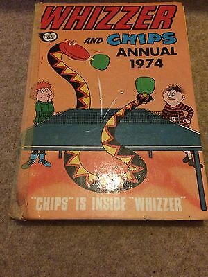 Whizzer And Chips Annual 1974