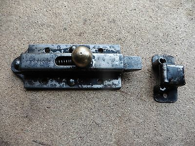 Vintage Cabinet Latches Brass And Steel Unused Old Stock