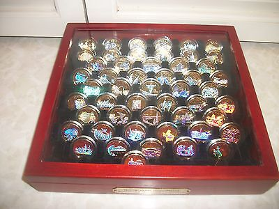 51 Holographic Gold-Plated U.s. State Quarter Collection In Box