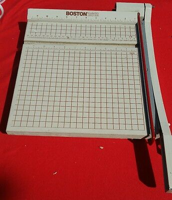Boston 2612 Paper Cutter -Sharp cut -lightly used