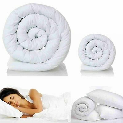 100% Microfibre Multi Seasons Duvets /Quilts 4.5, 10.5, 13.5 & 15 Togs All Sizes
