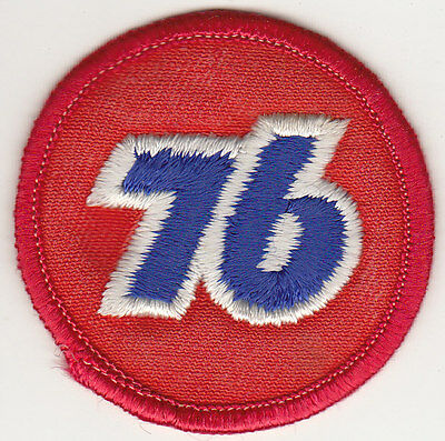 Vintage Union 76 Gas Oil Service Station Attendant Patch