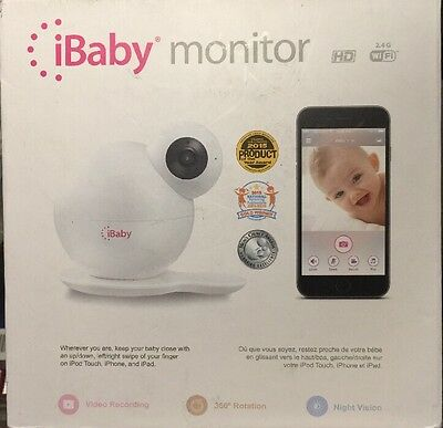 iBABY MONITOR M6 HD WIRELESS DIGITAL BABY VIDEO CAMERA w/360 NIGHT VISION
