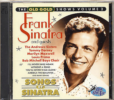 SEALED Frank Sinatra - Songs By Sinatra The Old Gold Shows Vol 2 2CD