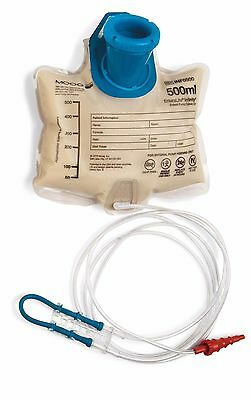 EnteraLite Infinity Pump Sets feeding bags 500ml INF0500-A MOOG