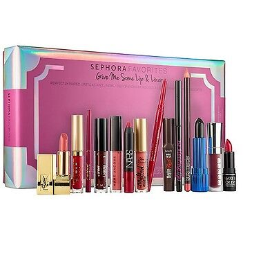 Sephora Favorites Give Me Some Lip and Liner Set Holiday 2016 New/Boxed