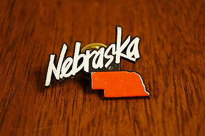 Nebraska State Travel Pinback