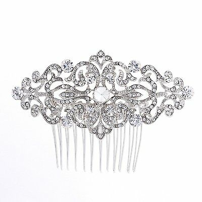 Rhinestone Crystal Hair Comb,Bridal Wedding Hairpin,Side Hair Comb,Hair Jewelry