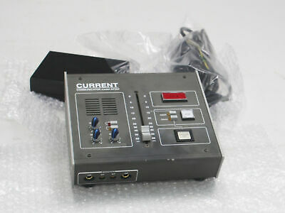 CURRENT AF224 broadcast microphone preamplifier mic preamp coughbox fader $3500