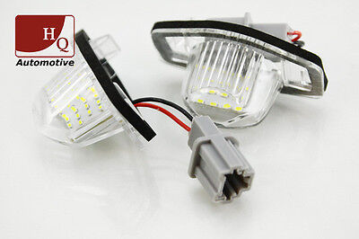 HONDA JAZZ License Licence Number Plate LED Lamp Light