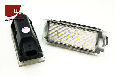 Renault License Licence Number Plate LED Lamp Light