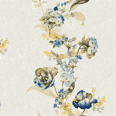Contact Paper Floral Shabby Chic Self Adhesive Wallpaper Home Decorative Sheets