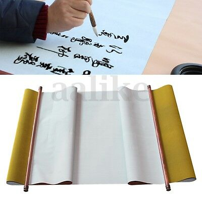 1.4m Chinese Calligraphy Writing Painting Practice Scroll Cloth Paper Non Ink