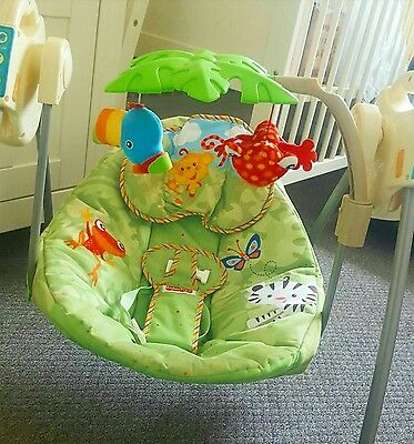 Sing a long Fisher Price Colourful Baby Bouncer