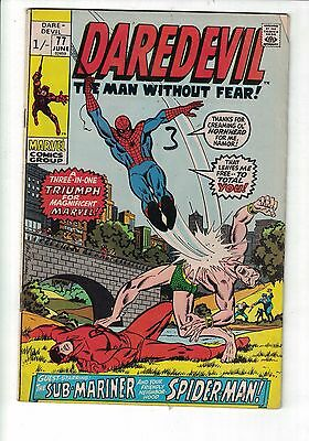 Marvel Daredevil No.77 June 1971 Guest starring Sub Mariner & Spider-Man