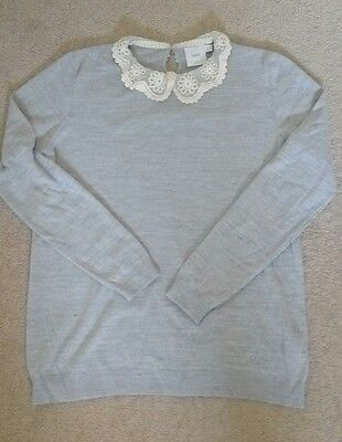 Asos maternity grey jumper sweater size 12