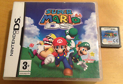 SUPER MARIO 64 DS for NINTENDO DS, DSI, 3DS BOXED & TESTED