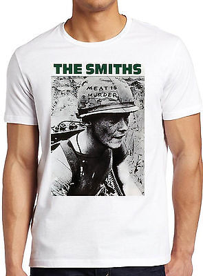 The Smiths Meat Is Murder Alternative Rock Morrissey Men Women Unisex TShirt 256