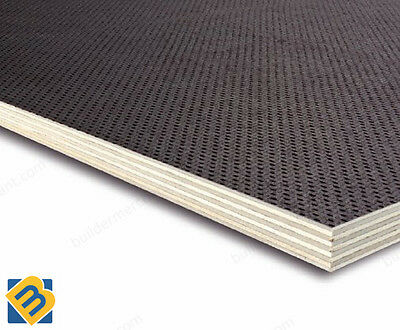 10x5ft Anti-Slip Phenolic Plywood Sheets 18mm Trailer Flooring Buffalo Board