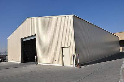 Steel Framed Warehouse Building - agricultural farm commercial storage building