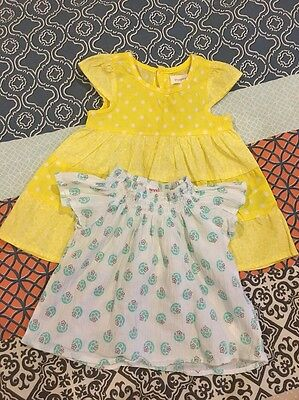 BABYGIRL CLOTHES/PUMPKIN PATCH DRESS/SEED TOP, Size0-12m