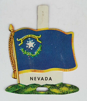 1959 Tin Litho Nabisco Shredded Wheat State Flag for Nevada
