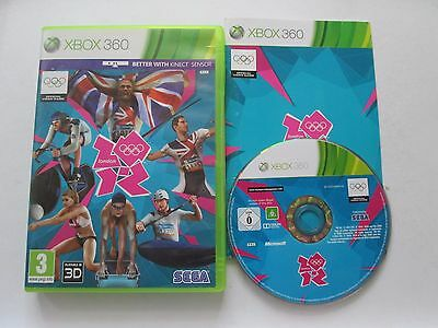 London 2012 Olympic Games For Microsoft Xbox 360 Game Complete PAL