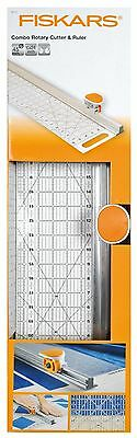 Fiskars 6 inch x 24 inch  Rotary Cutter and Ruler Combo, 9513