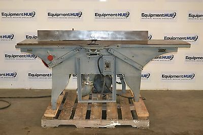 "American Woodworking Machinery 12"" Straight Knife Jointer, Vintage"