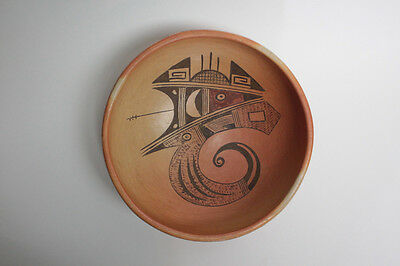 Antique Hopi Native American Bowl from 1930's by Lucy Tsie