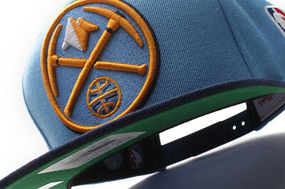 various colors 33b66 942a0 Denver Nuggets Mitchell   Ness (NM04Z MTC 5NUGGE) 2 Tone XL Snapback Hat