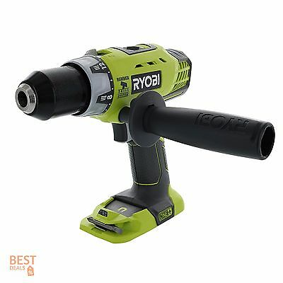 Cordless Hammer Drill Kit Combo 18V Driver Tool Lithium Ion Battery Powered Set