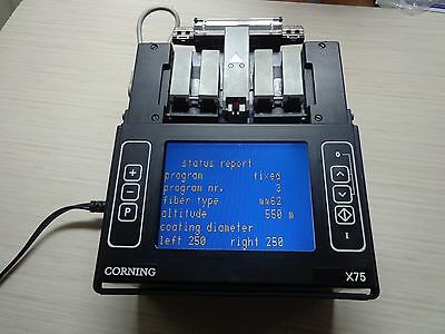 Corning X75 Fusion Splicer Good Working Condition !!!!!