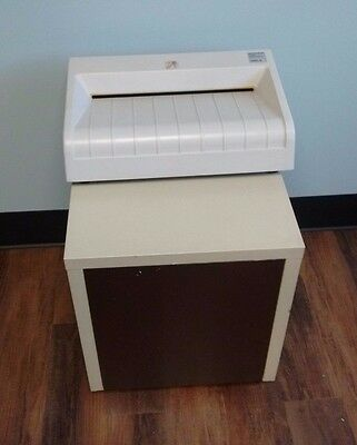 Ideal DestroyIt 3801 A StripCut German M Gear Industrial Paper Shredder