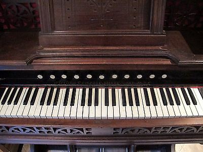 ANTIQUE STERLING REED PUMP ORGAN  NICE CONDITION 1880's DERBY CONN