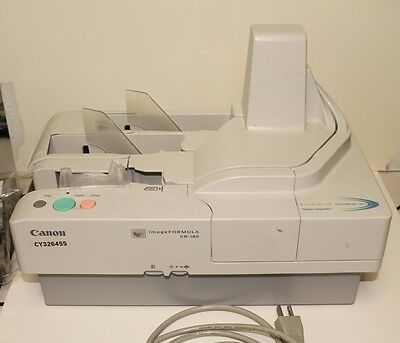 Canon CR 180 Check Scanner  M11046  High Speed Scanner & Endorser