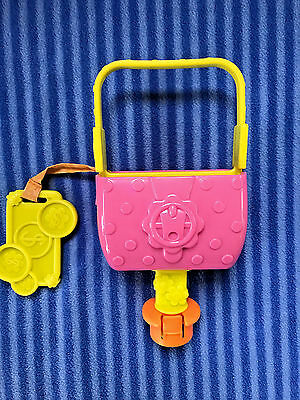Evenflo 1-2-3 Tea for Me Exersaucer Pink Purse Toy Replacement Part