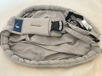 """""""The Baba Sling"""" Baby Sling Carrier grey"""