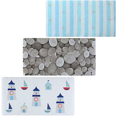Quality Anti Non Slip Cushioned Strong Suction Nautical Stones Shower Bath Mat