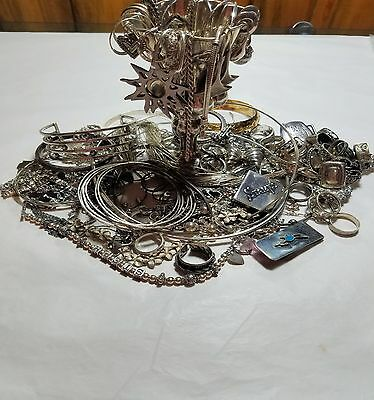 Amazing 78O Grams Sterling Jewelry Lot All Kinds No Junk No Stones  Real Deal