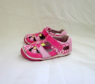 Stride Rite sandals shoes, multi-color, leather, size 8M