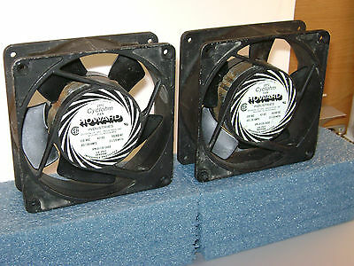"X2 CYCLOHM 42-83 MUFFIN COOLING FANS 4.5"" 115VAC made in USA .28A SPN 3-15-3450"