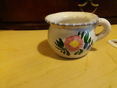 """4 Vintage Miniature Chamber Pot """"Attend To Your Own Business"""""""