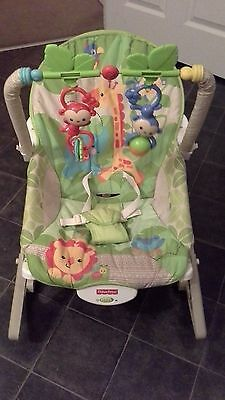 Fisher Price Rainforest Friends Infant-to-toddler Rocker Chair Baby Bouncer