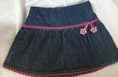 GYMBOREE GIRLS SKORT SIZE 7 with Elastic Waist EUC