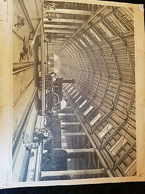 Rare signed lithograph by j c bourne engine house swindon 1/30 made
