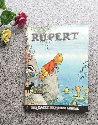 Vintage Rupert The Bear Annual Daily Express 1969 Unclipped