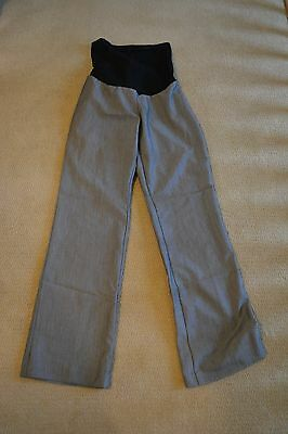 Oh Baby by Motherhood Gray Dress Pants Size Small