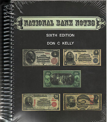 National Bank Notes Sixth 6th Edition by Don C Kelly NEW Book w/CD FREE Ship USA