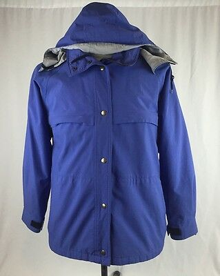 Men's Eddie Bauer Expedition Outfitters Wind Rain Jacket Size Medium M Hooded
